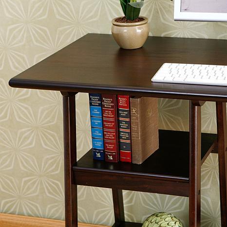 Espresso Desk 6408559 Hsn