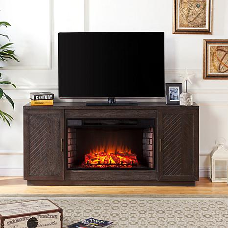 "Lanton 33"" Widescreen Electric Fireplace TV Stand"