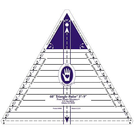 Large 60-degree Triangle Ruler