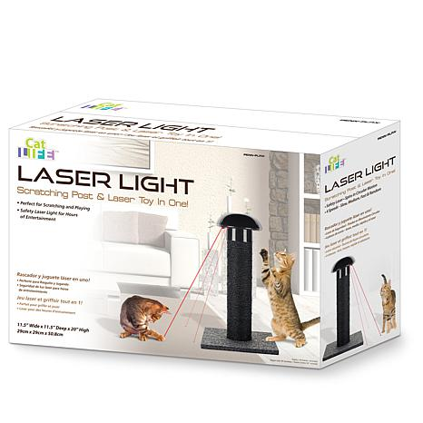 Laser Light Scratching Post For Cats