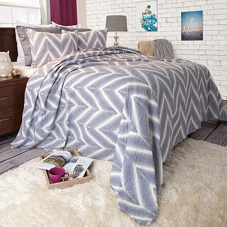 Lavish Home 3-piece Oriana Quilt Set - King