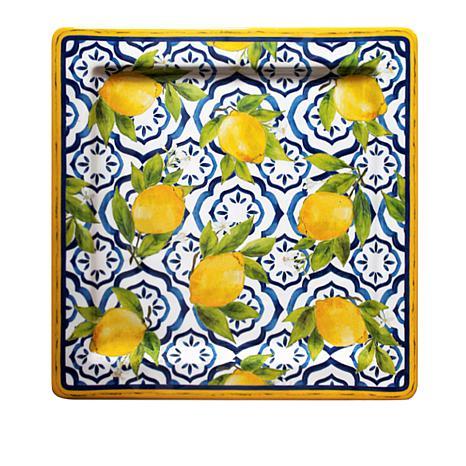Le Cadeaux Palermo Square Platter