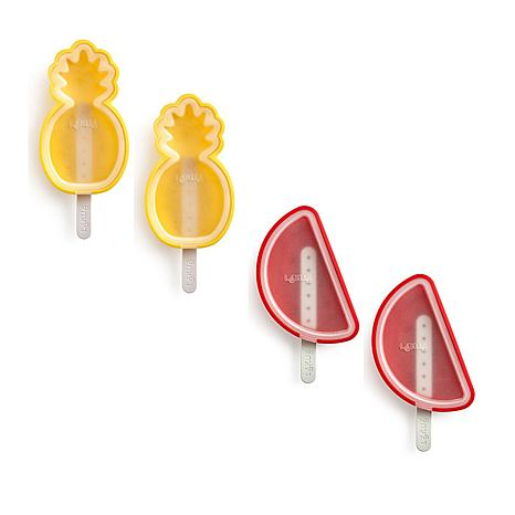 Lekue Set of 4 Popsicle Molds