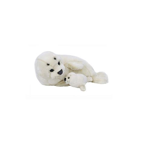Lelly National Geographic Seal with Baby Plush