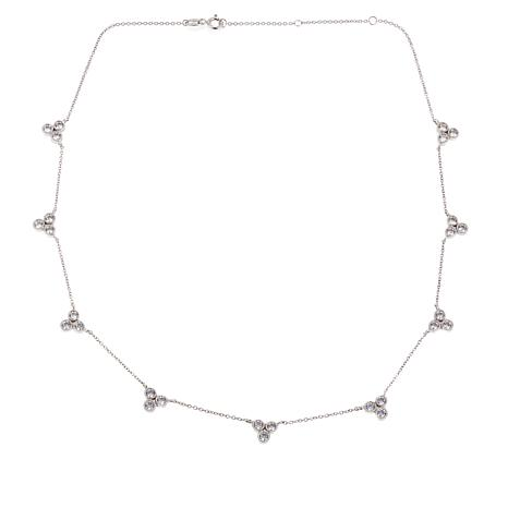 "Leslie Greene 1.89ctw CZ ""Rivington"" 18"" Necklace"