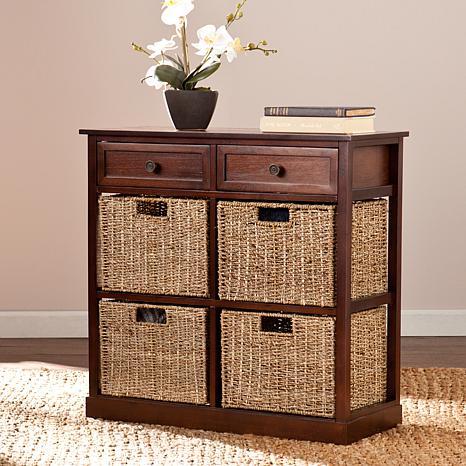 Lewis 4-Basket Storage Chest