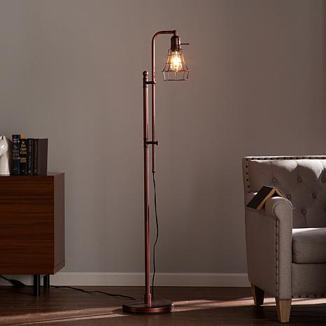 Lexford edison bulb floor lamp 8192972 hsn aloadofball Image collections