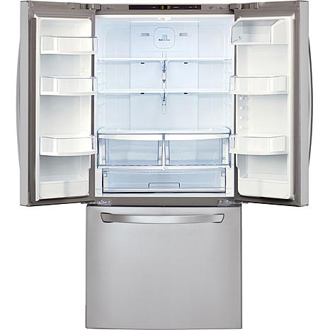 Lg 22 Cu Ft 30 Quot Wide French Door Refrigerator