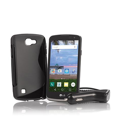 """LG Rebel 4.5"""" 4G LTE Android TracFone w/Triple Minutes"""