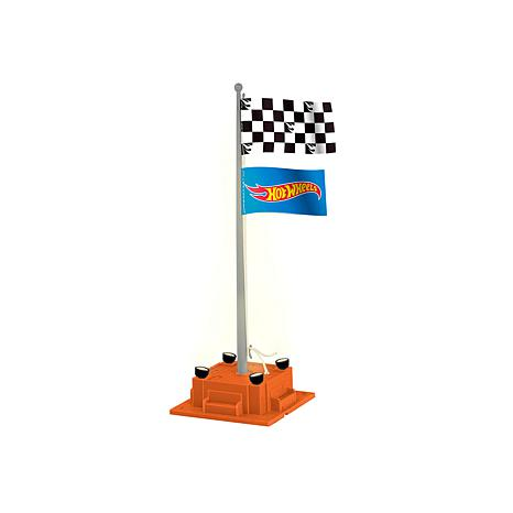 Lionel Hot Wheels™ Plug-Expand-Play Checkered Flagpole