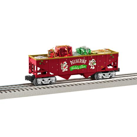 Lionel Trains O-Gauge Mickey's Holiday Hopper Car with Load of Gifts