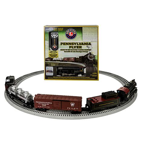 "Lionel Trains ""Pennsylvania Flyer"" O-Gauge Train Set with Remote"