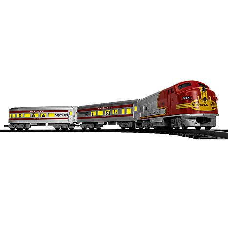 lionel trains santa fe diesel passenger ready to play train set