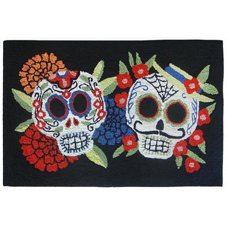 "Liora Manne Frontporch Mr. & Mrs. Muerto Rug - 20"" x 30"