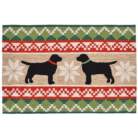"""Liora Manne Nordic Dogs Rug - 20"""" x 30"""""""