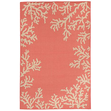 "Liora Manne Terrace 39"" x 59"" Rug - Coral"