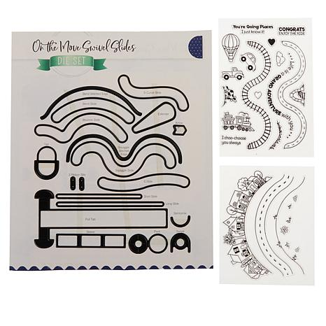 Little Darlings On the Move Interactive Card Making Kit