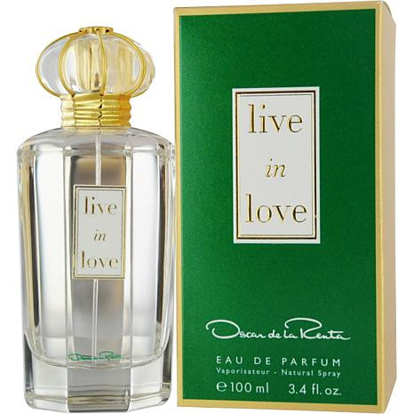Live In Love by Oscar De La Renta EDP Spray - 3.4 oz.