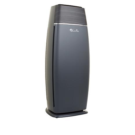 LivePure Sierra Series True HEPA LED Tall Tower Air Purifier