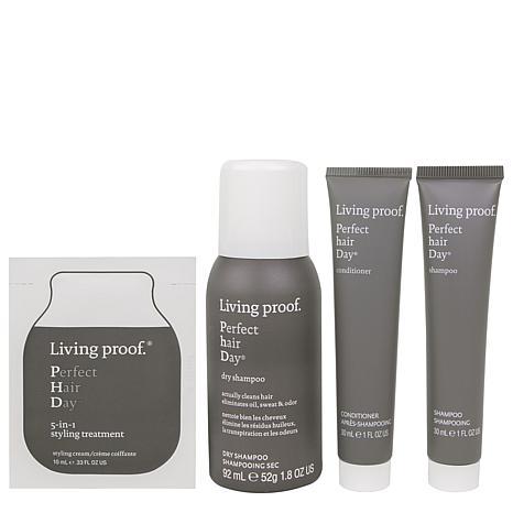 Living Proof Healthy + Strong PhD Mini Hair Transformation Kit