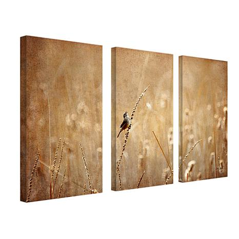 Lois Bryan 'Bird' Canvas Art