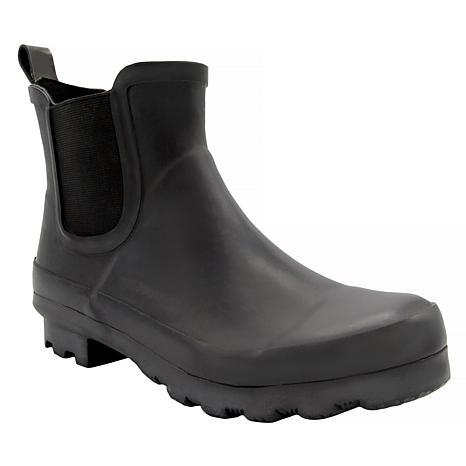 London Fog Wembley Ankle Rain Boot