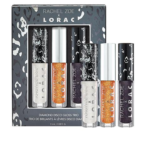 LORAC 3-piece Diamond Disco Lip Gloss Set