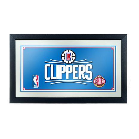 Los Angeles Clippers NBA Framed Logo Mirror