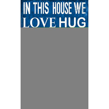 Los Angeles Dodgers In This House Sign