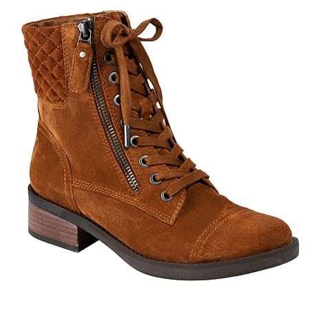Lucca Lane Cailyn Leather Fashion Bootie