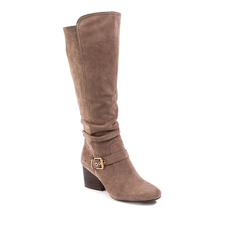 Lucca Lane Paris Suede Tall Fashion Boot