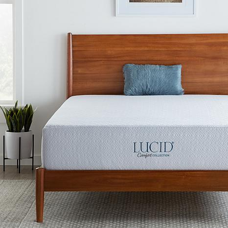 "LUCID Comfort Collection 12"" Plush Gel Memory Foam Mattress - Full"