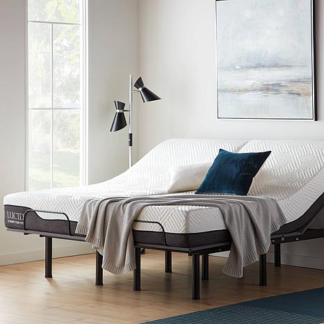 Lucid Refresh Twin XL Adjustable Bed Base