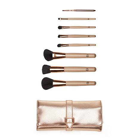 Luke Henderson 8-piece Brush Set with Brush Roll