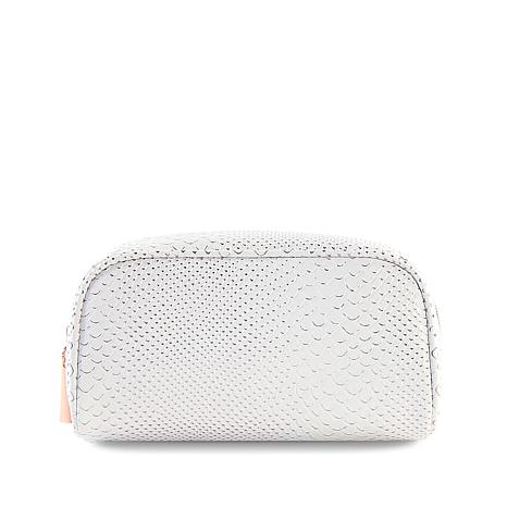 Luke Henderson Large Cosmetic Case - White
