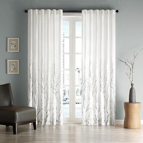 """Madison Park Eliza Window Panel - 50"""" x 95"""" - White"""