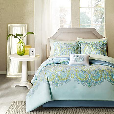 Madison Park Essentials Celeste Complete Bed Set-Queen