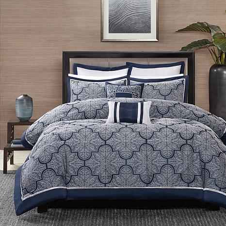 park navy comforter set king california sets black and white cal blue red