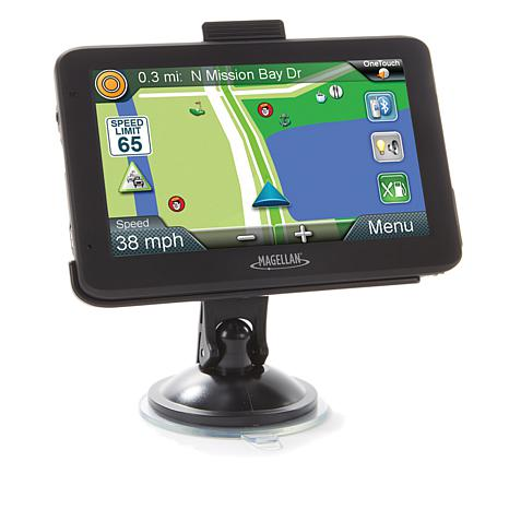 magellan roadmate 5 gps with lifetime map updates and traffic alerts 8595319 hsn. Black Bedroom Furniture Sets. Home Design Ideas