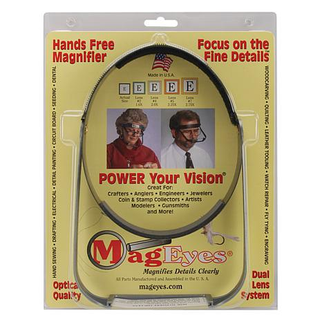 MagEyes Magnifier - Full Circle/Double Hi - Black
