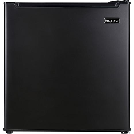 Magic Chef Black 1.7 Cu. Ft. Mini Refrigerator w/Chiller Compartment