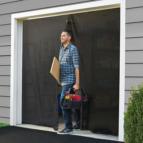 Magic Mesh™ Hands-Free Screen Door Garage