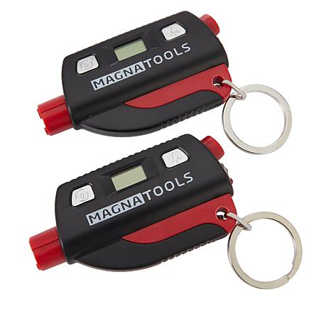 Magna Tools 2-pack 5-in-1 Emergency Key Chain
