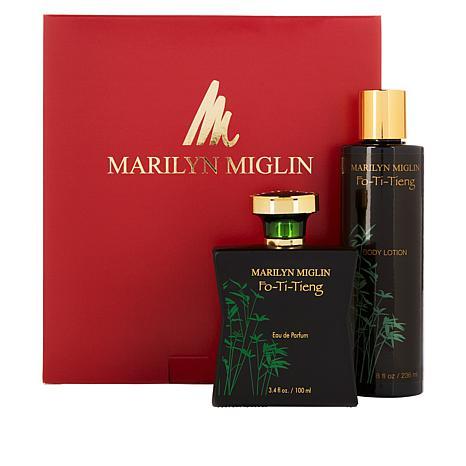 Marilyn Miglin Fo-Ti-Tieng Eau de Parfum and Body Lotion Set
