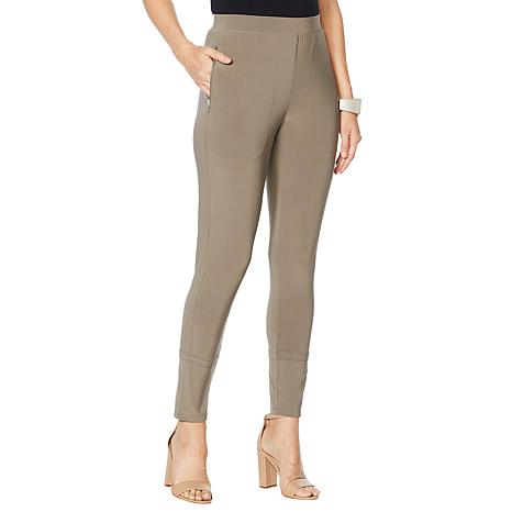 MarlaWynne Matte Jersey Slouched Pant with Pockets