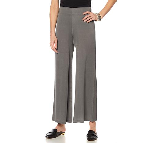 MarlaWynne Micro Pleated Palazzo Pant