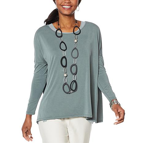 MarlaWynne Modal Blend Long Sleeve Pullover