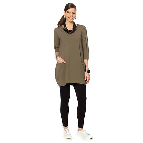 MarlaWynne Stretch Tech Tunic with Pockets