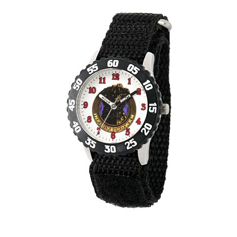 Marvel Infinity Gauntlet Kid's Time-Teacher Watch with Rotating Bezel