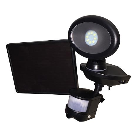 Maxsa Motion-Activated Solar Security LED Video Camera